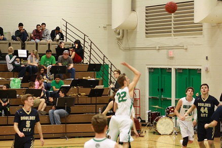 Bulldogs End League Play with 56-46 Defeat of Boulder City