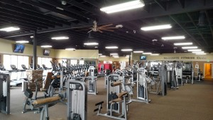 Mesquite Fitness Club has transformed their 10,000 square foot area into workout heaven at 1085 W. Pioneer Blvd. Club owner Stephen Paylor and his manager Christopher Dizon vow to make the facility a second home to its members. Photo by Stephanie Frehner.