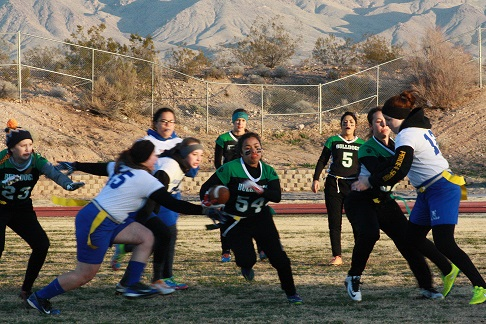 Gridiron Gals Hold on to Defeat Pirates 31-26