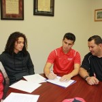 Moises Medina signs 'Letter of Intent' to Attend Dixie State University