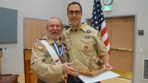Stephen Wait Brent Hughes Scout Recognition Jan. 2016 005