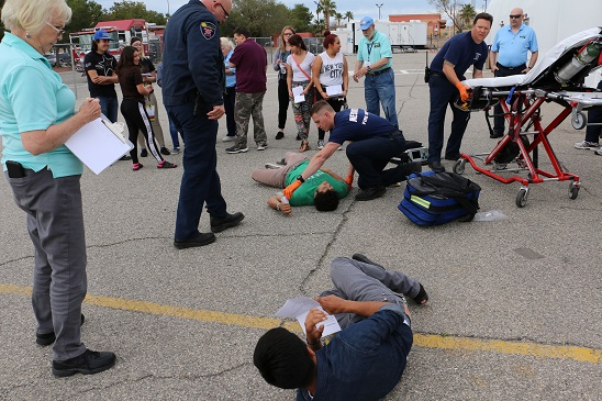 Fire, Police Hold Mass Casualty Exercise