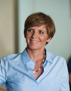 Democrat Susie Lee is one of eight democratic candidates vying for a chance to run against the republican opponent in November for Congressional District 4. She is the top democratic fundraiser so far in the race. Photo courtesy of susieleefornevada.com web site.