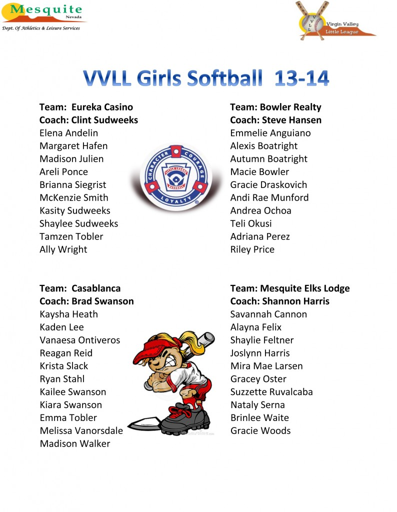 16 Girls Softball 13-14 poster (2)