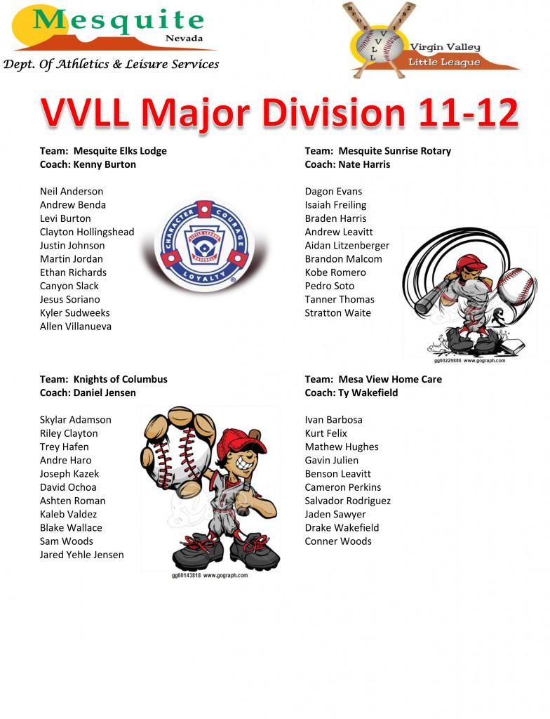 16 VVLL Major Division 11-12poster (2) (1)
