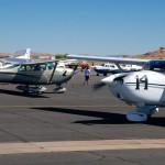 WOMEN'S AIR RACE LANDS IN MESQUITE