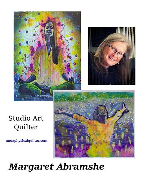 April Artist quilts stories