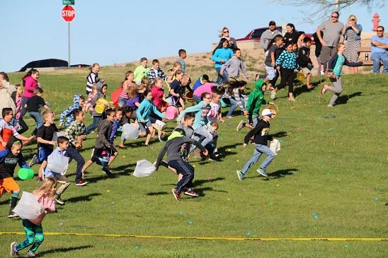 Lion's Club host annual Easter Egg Hunt