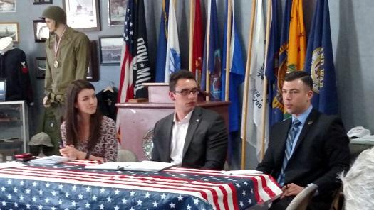 Heller's Representatives visit Mesquite