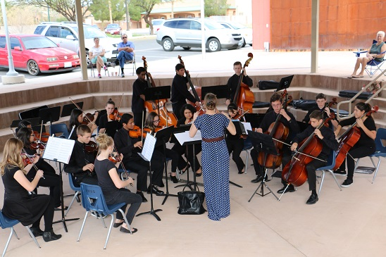 High School Orchestra Prepares for Vegas Competition