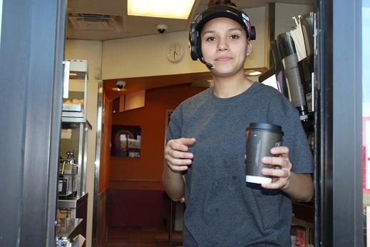 Thank you, Taco Bell Employee, Valerie Villa.