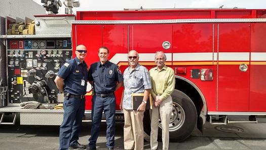Leavitt joins Mesquite Fire Rescue
