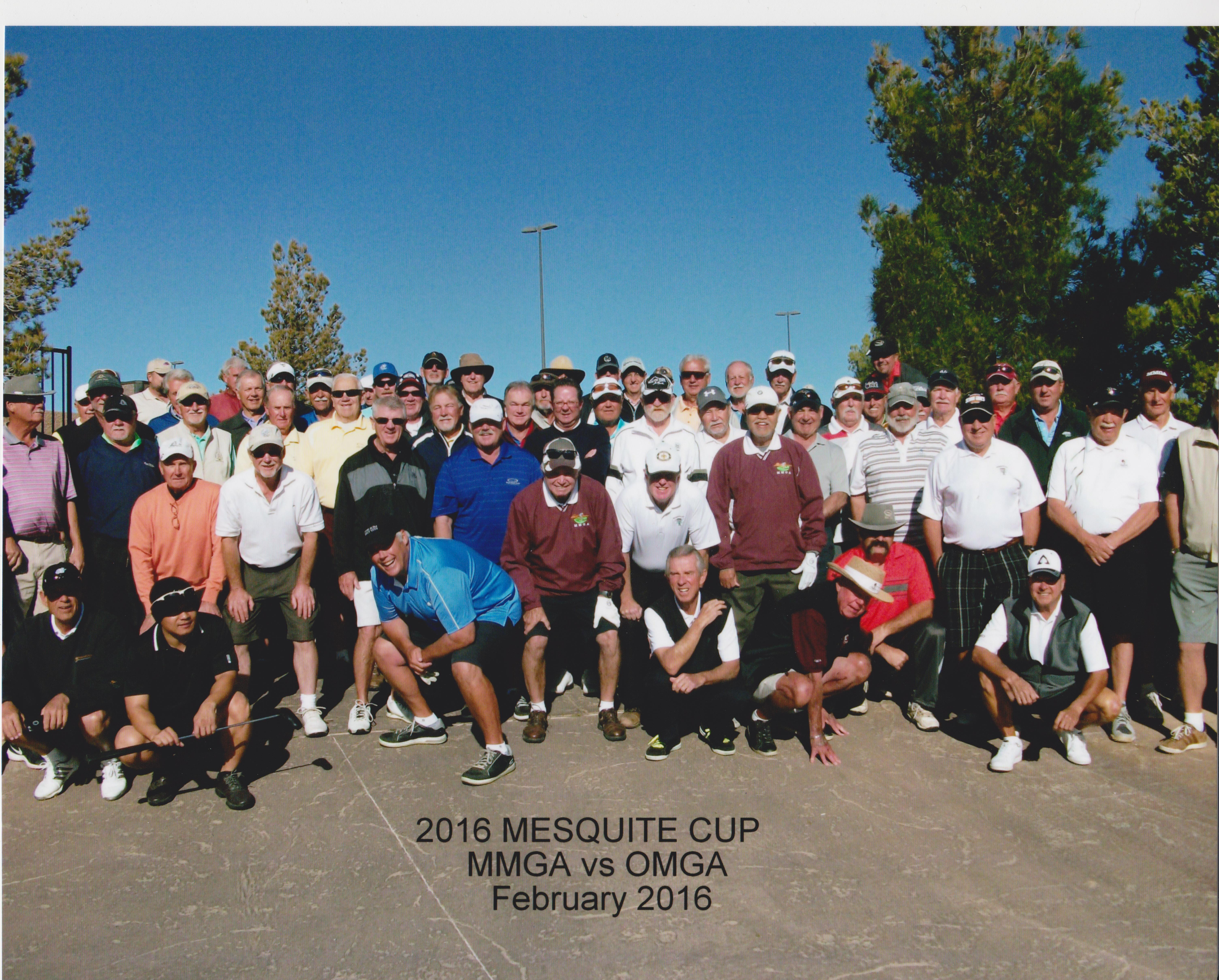 Mesquite Cup goes to Oasis Mens Golf Association