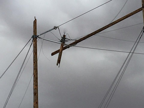 Power Outage Cripples Valleys for 16 Hours