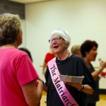 Line Dance Class Honors Instructor