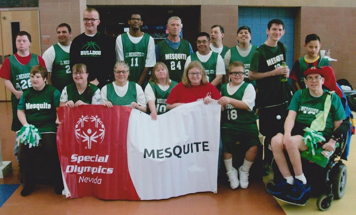 Special Olympics competes in Vegas