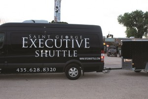 StGeorgeShuttle-03-31-16: Mesquite residents will soon have direct access to shuttle service between Mesquite and McCarran Airport after the Nevada Transportation Authority approved St. George Executive Shuttle's application on March 24. Photo by Phil Nehrenz.