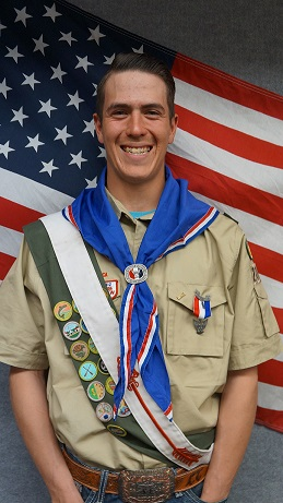 Toombs earns Eagle Scout Award