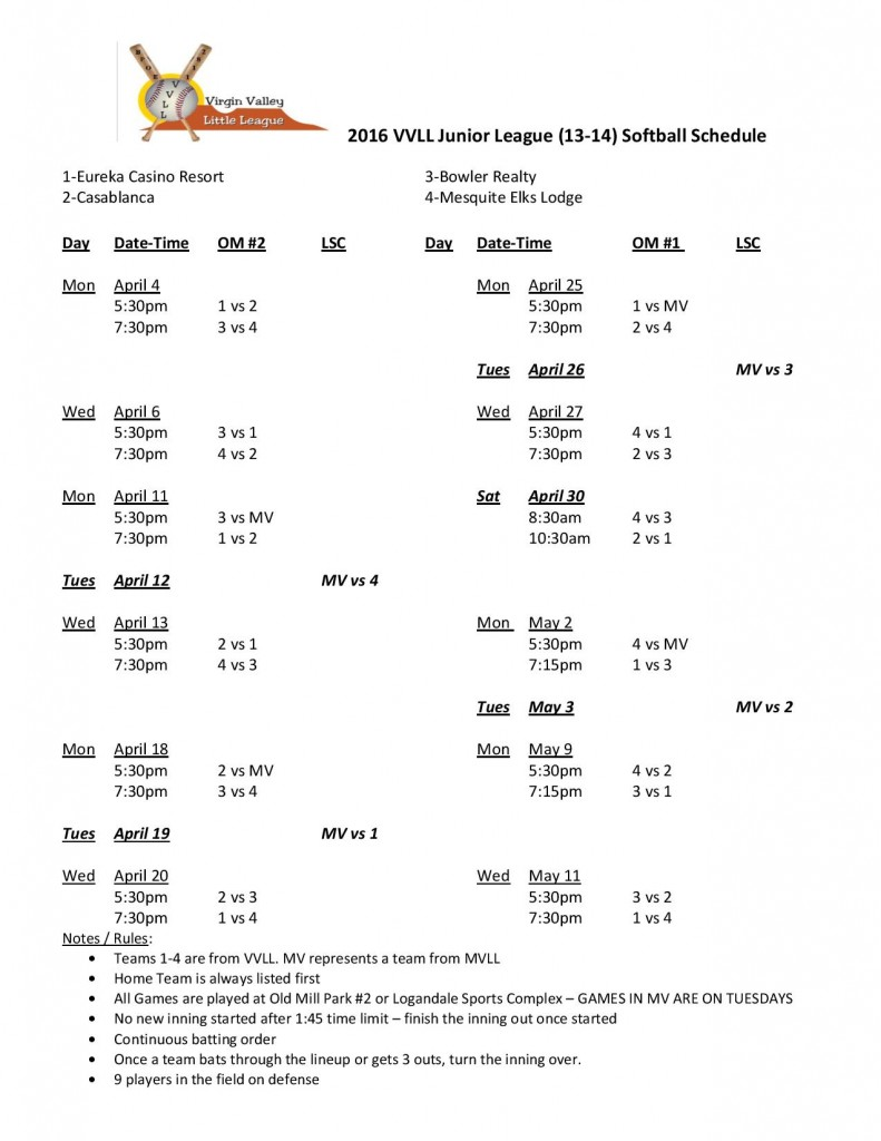 2016 VVLL 13-14 Softball Schedule-page-001
