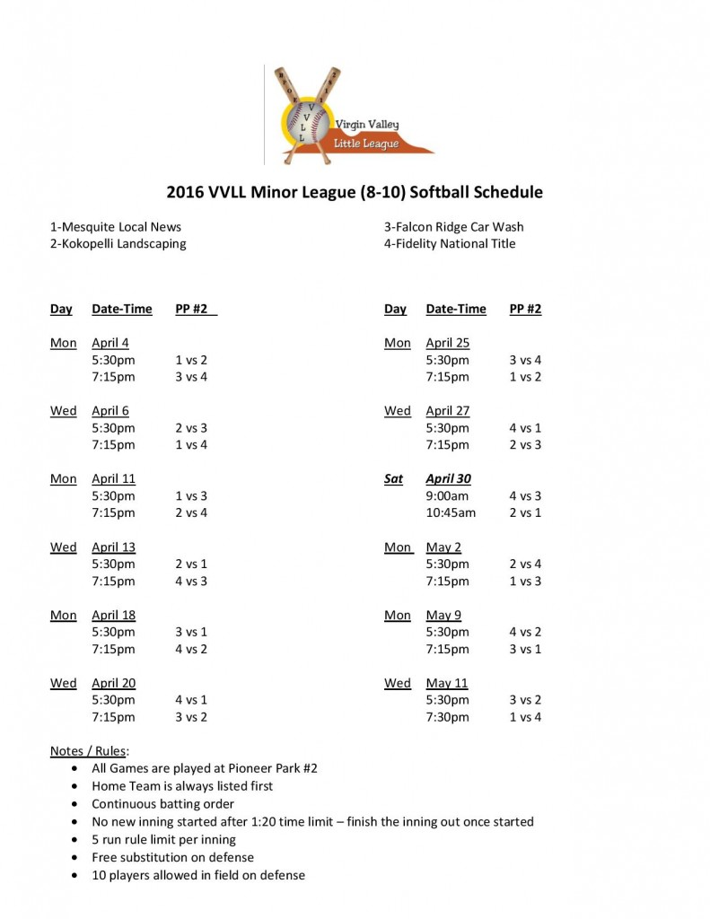 2016 VVLL 8-10 Softball Schedule-page-001