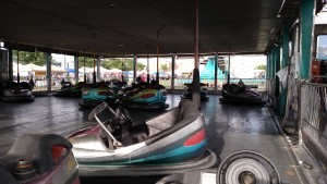 Bumper cars have always been a hit at any carnival, and Mesquite Days is no exception. Photo by Stephanie Frehner.