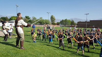 Cub Scouts enjoy day camp