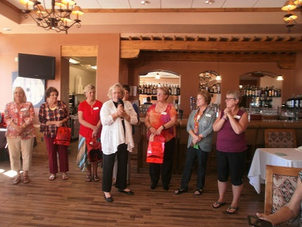 Changing of the guard at Desert Dames