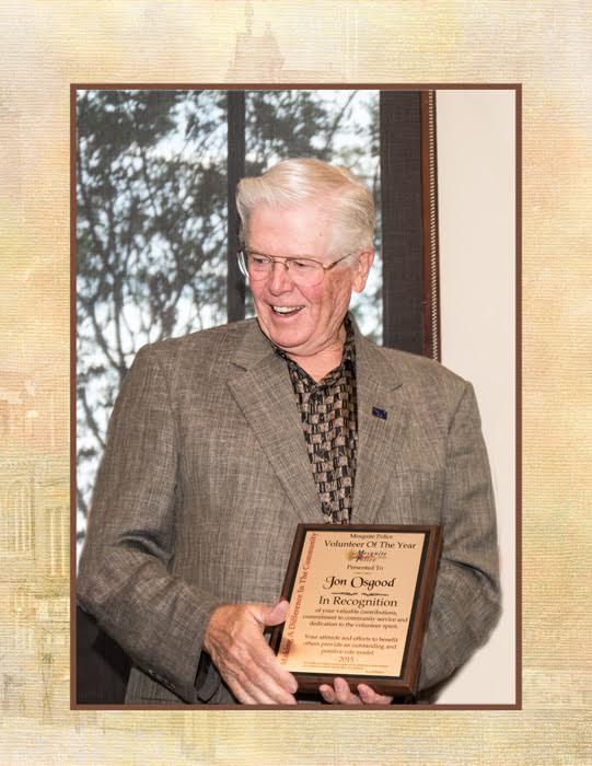 Jon Osgood Named Mesquite Police Volunteer of the Year