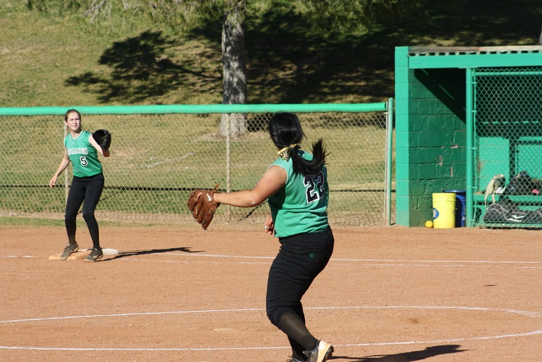 Lady Dawgs go 2-2, lose to Pirates 13-3 and Eagles 16-1 defeat Parowan (Utah) in double header.