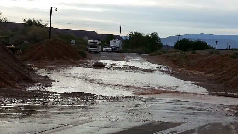 Weekend rains bring little damage to valleys