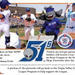 Virgin Valley Little League Night with the