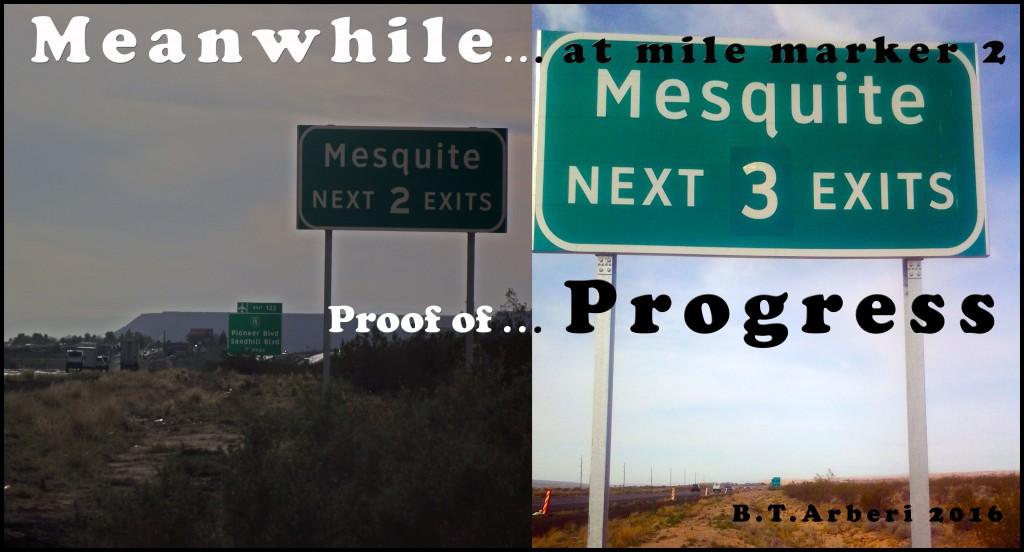highway sign cartoon