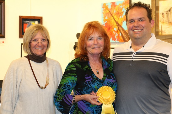 Sponsor and People's Choice awards meted out at Artists Reception