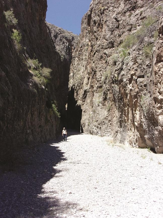 A Slot Canyon in Nevada? Yep, Arrow Canyon