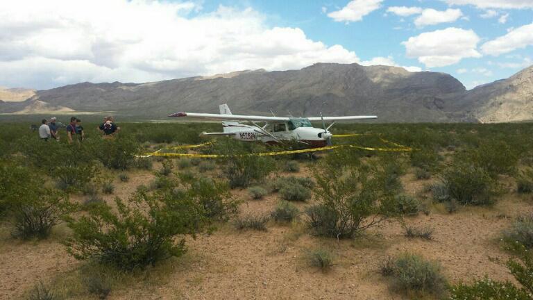 Plane makes emergency landing in Arizona Strip