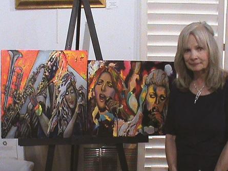 Ludwig named June Artist at Gallery