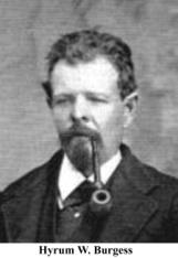 Judge Hyrum Burgess was the first Justice of the Peace in Mesquite.