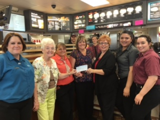 Mesquite McDonald's Employees donate to Community Food Bank