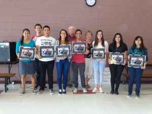 Students who went to Mexico for a Super Build are from left,  Karen Yanez, Zack Hurt, Saul Gonzales, Brittny Wilson, Mr. Atwood, Brandon Gonzales, Linda Gualt, Danielle Garlick, Maricela Sandoval, and Ariana Quevedo.  Submitted Photo