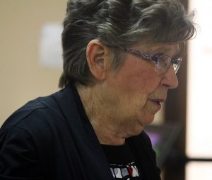 Vicki Eckman, Founder and Director of the Mesquite Toes Tap Team announced her retirement as of June 8.  A party was given in Eckman's honor on May 19.  Photo by Teri Nehrenz