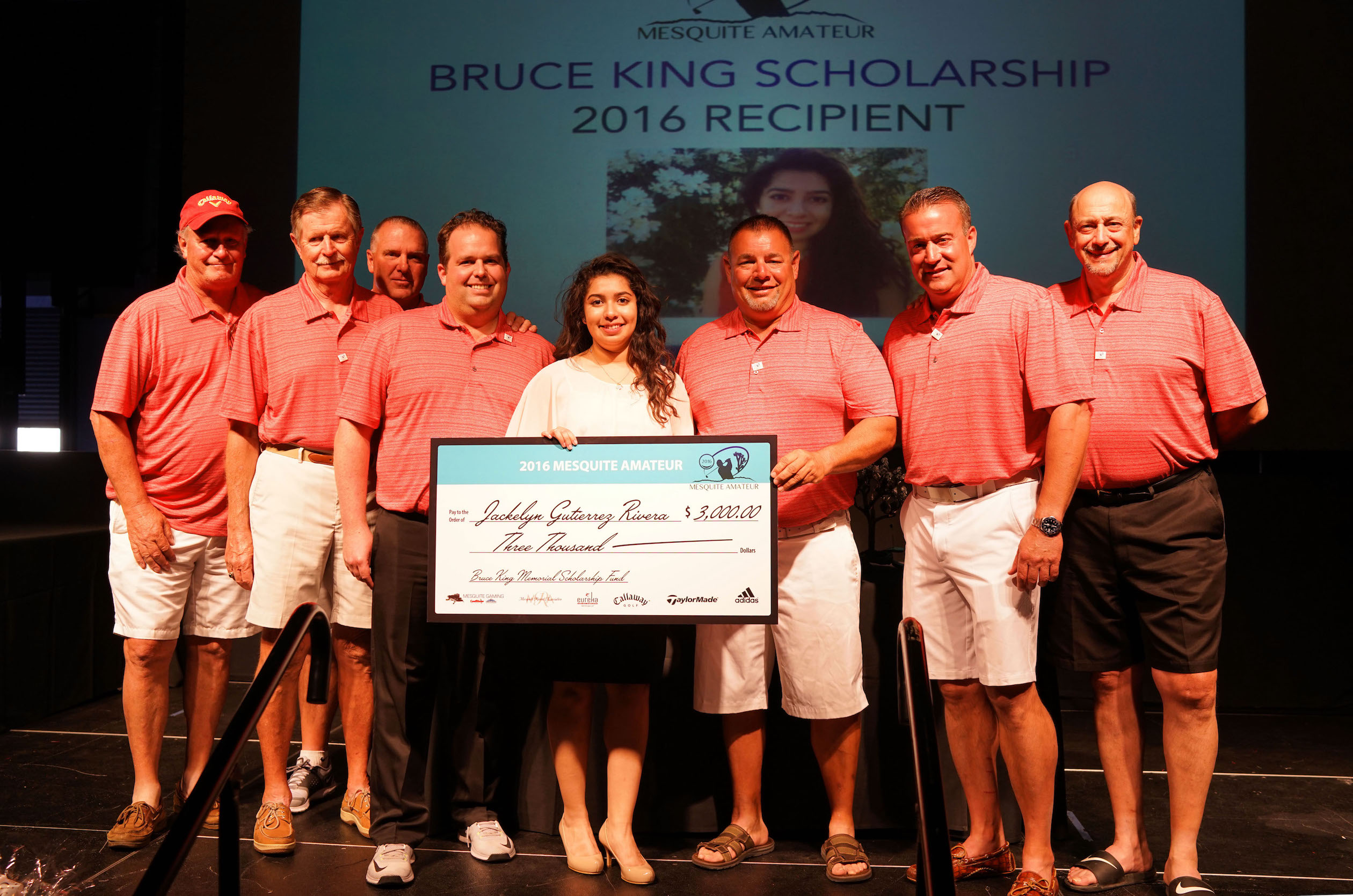 Mesquite Amateur tourney awards memorial scholarship