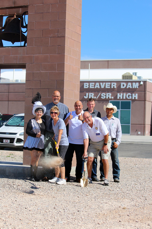 Beaver Dam Jr./Sr. High beautification project is underway