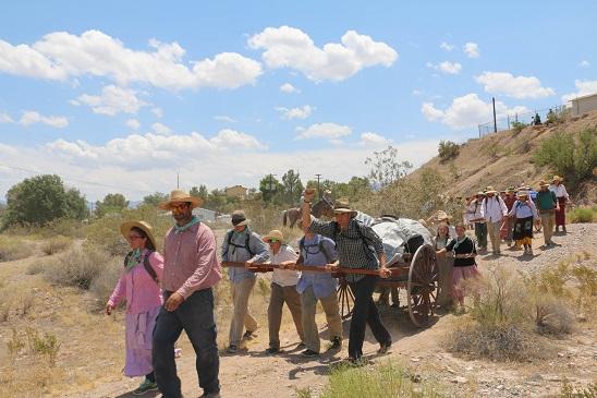 Desert Trek is a rite of passage to local kids