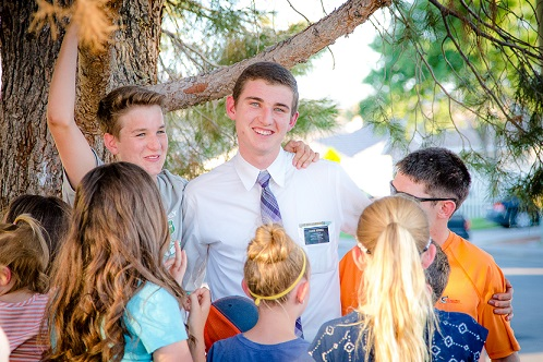Elder Nathan Hughes to serve mission