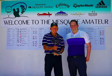 Texas golfer wins 14th Annual Mesquite Amateur golf tourney