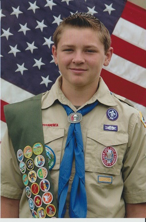 Empey receives Eagle Scout Award