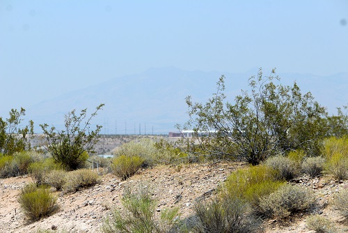 Wildfire smoke fills valley air