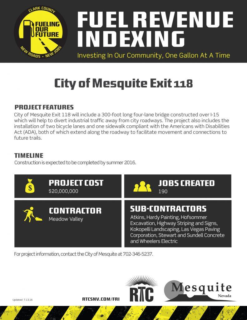 City of Mesquite Exit 118 _FRI2