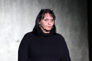 Teri Nehrenz in her role of Dr. Martha Livingston in Agnes of God a 2016 VVTG production.  Nehrenz will be directing the production and set work for Disney Musicals in Schools at Bowler Elementary. Photo by Barbara Ellestad.