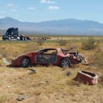 Rollover victims escape with serious injuries